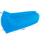 Nylon/ Polyester square beach lounger bean bag air lay bed bag, Outdoor sun inflatable lounger