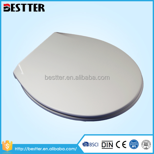 Soft closing hygienic plastic american standard toilet seats
