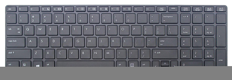 New For HP EliteBook 8560p 8570p UK black Keyboard Laptop