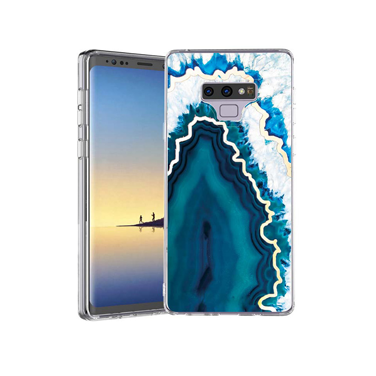 2018 New Blue Marble For Iphone Imd Phone Case For Samsung Galaxy Note 9 j7 <strong>v</strong>/j7 Perx/j7 Prime
