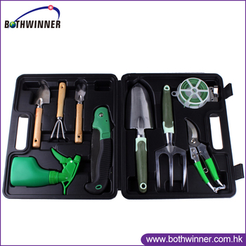 Pretty garden tool set h0t157 hand gardening tool aluminum for Pretty garden tools set