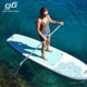 Non Slip EVA Pad Stand Up Paddle Surfing Fitness Big Inflatable Paddle Board