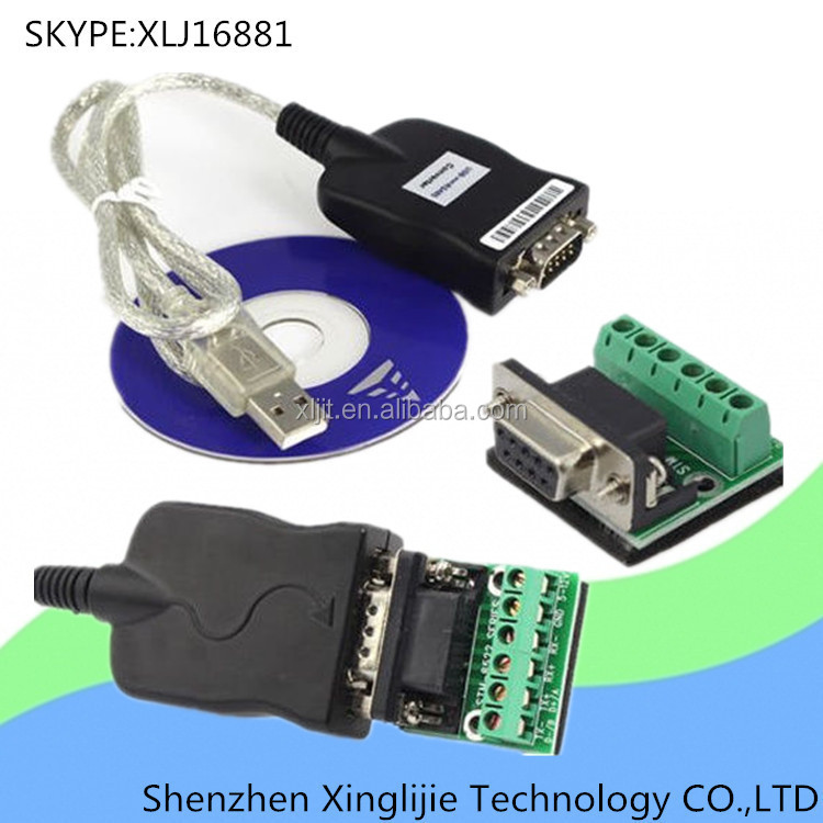 Driver USB 2.0 to RS485 RS422 232 TTL CAN Cable Serial Converter Adapter