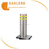 Stainless steel hydraulic retractable bollard
