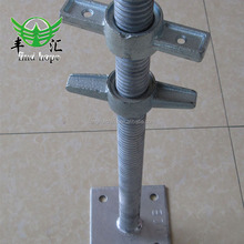 High quality hollow and solid screw construction jack base for supporting