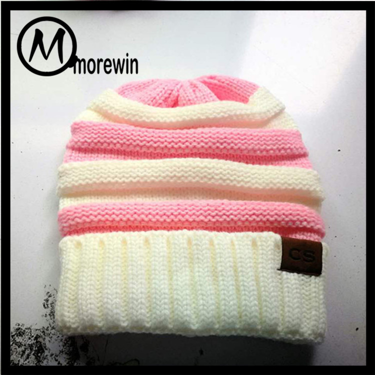 485fa4a93fa98 Morewin Amazon Hot Sell New CC Custom Beanies And Cap Knit Hat Wholesale