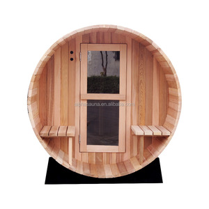 Outdoor Sauna Kit + Heater + Accessories + Custom Roof