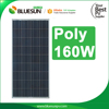 Bluesun Hot sell china solar panels cost poly panel 135w 140w 150w 160w