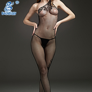 Europe Hot Sale Full Body Stocking Micro Teddy Sexy Underwear Fat Women Lingerie
