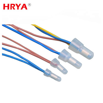 Triple Ends Multi Quickly Mounting Push Wire Terminals Close End Connector on