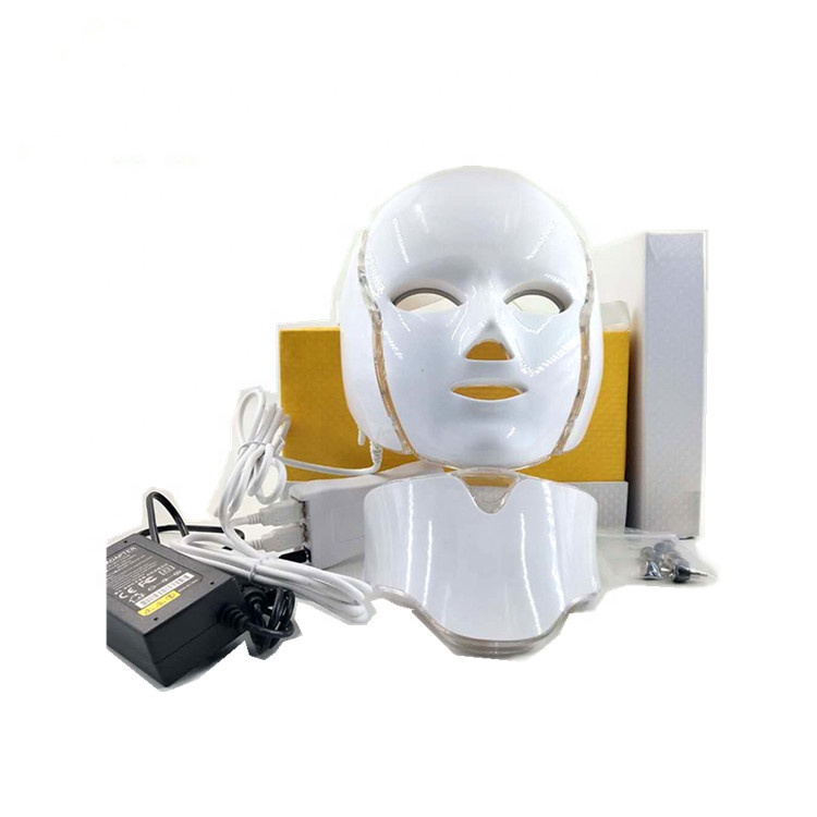 Skin Care PDT Machine Led Face Mask with Neck Mask
