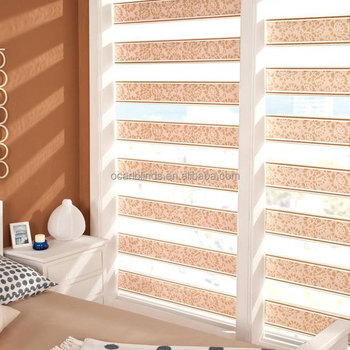 High Quality Professional Manufacturing Zebra Roller Fabric Window Blinds