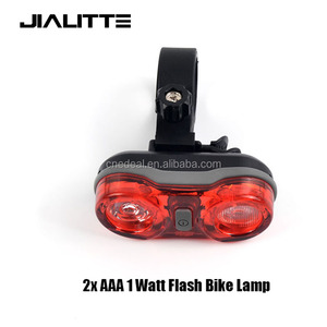 Jialitte B057 RPL-2232 Outdoor Led Bicycle Back Light Waterresist Flash 1 Watt Bike Lamp Red Light MTB Warning Taillight