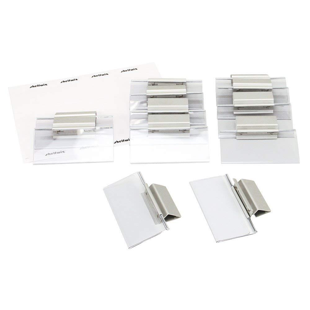 """ShelfWiz Shelf Talkers - Original 3/4""""-2-3/8""""H x 5-1/8""""W-12/pk"""