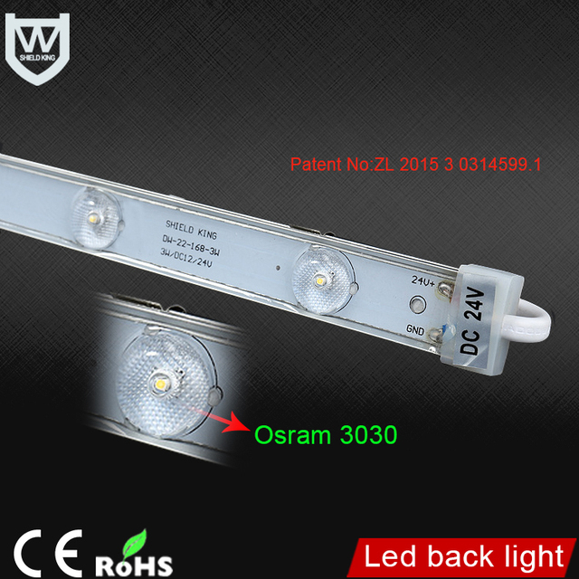 Buy cheap china super bright led light bar products find china high quality 3030 chip 3w led back light module super bright 300lm waterproof ip65 led rigid aloadofball Image collections