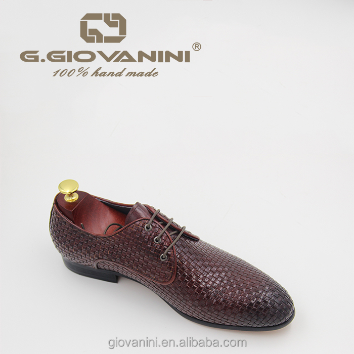for loafers leather weave shoes men genuine Hand wxCRXq