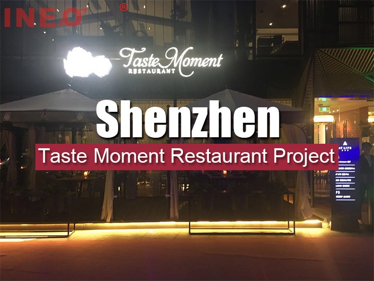 INEO Successful Taste Moment Restaurant Project In Shenzhen