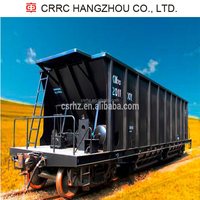 CRRC Hangzhou KM70 Railway Freight Coal Hopper Wagon For Sale