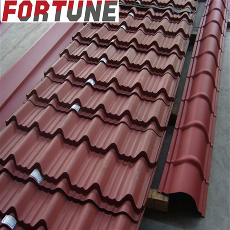 Sgcc Cgcc Corrugated Steel For Buildings With Wave Trapezoidal