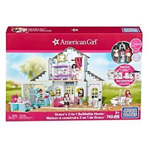 Mega Bloks American Girl Grace's 2-in-1 Buildable Home Playset,DPK87