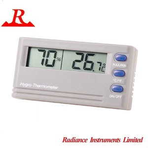 Mini Size Dual Display Min-max Memory Room Hygrometer and Thermometer