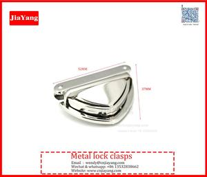 Closure Catch Tuck Lock For Leather Bag Case Clasp Purse Buckle