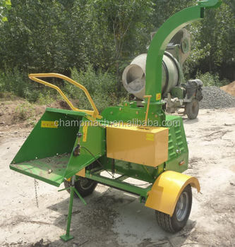 20 Hp Wood Chipper With One Cylinder Engine