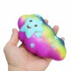 Mskwee 15CM Jumbo Rainbow Clouds Squishy Slow Rising Cute Smile Star Cartoon Phone Strap DIY Pendant Squeeze toy for Children