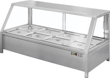 6 Pans Hot Food Display/ Food Warmer Bain Marie