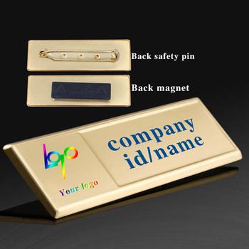 durable printable blank business name badges buy blank name badges