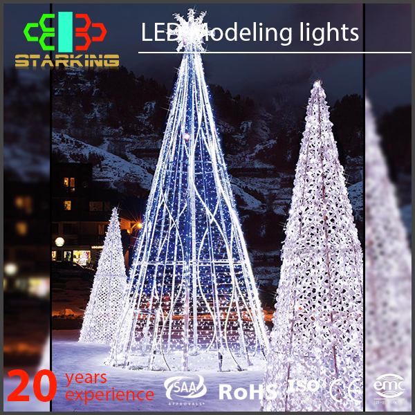 hot selling high end moderne luxe buiten kerstboom licht