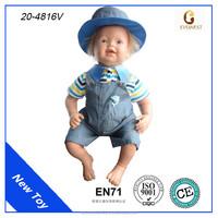 Chinese doll manufacturer OEM custom vinyl reborn baby doll