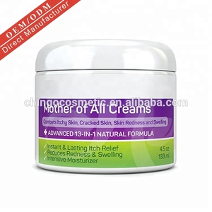 Private Label Best Price Natural Formula Skin Care Psoriasis and Eczema Treatment Cream