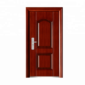 New Style Security Cheap China Entrance Steel Apartment Entry Door