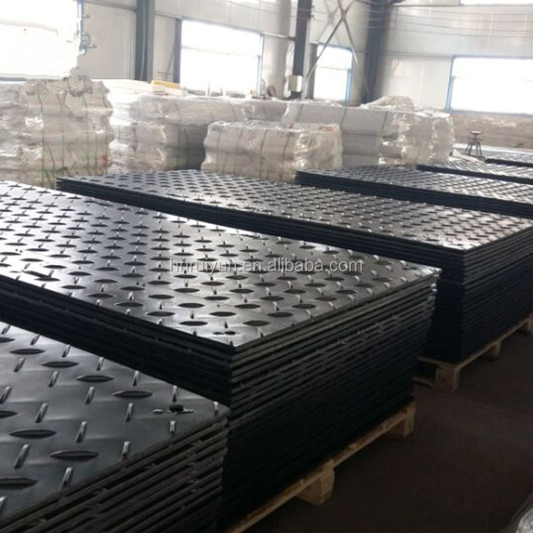 Temporary Floor Covering Large Plastic Mat Bog Mats