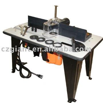Mesa de madera madera de corte herramienta router de mesa for Mesa herramientas