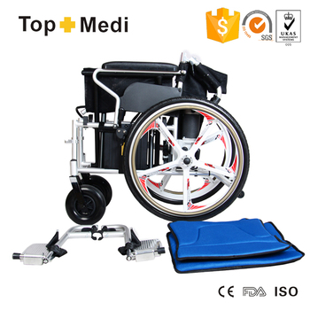 Foldable Aluminum Sports Chair Big Promotion TOPMEDI Foldable Power Electric Wheelchair ...
