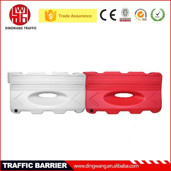 1300MM Long One hole water filled plastic used roadwork or motorway crash barriers