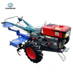 New 6.5 hp farm work hand cultivating small power tiller/mini tractor