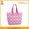High quality madras plaid fabric & aluminum foil container insulated lunch picnic ice cream cooler tote bags