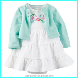 2017 Summer baby girl outfits babies clothes fashion kids sets