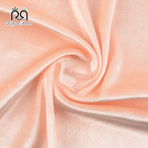 OEM accept great charming fashionable velour fabric for garment