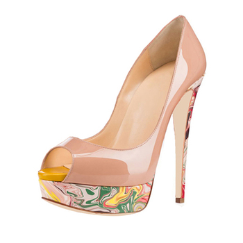 fa3647bbbd0046 Dongguan En Gros Sexe 12 cm Haut Talon Plate-Forme Grande Taille 43 44  Chaussures