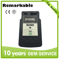 Wholesales ink cartridge for Canon PG 310 refillable printer ink cartridge