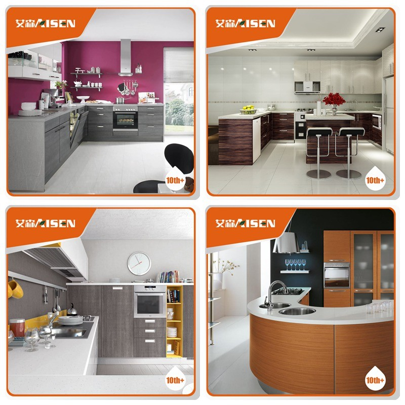 Complete Kitchen Cabinet Packages: Complete Design New Product Wood Veneer Kitchen Cabinet