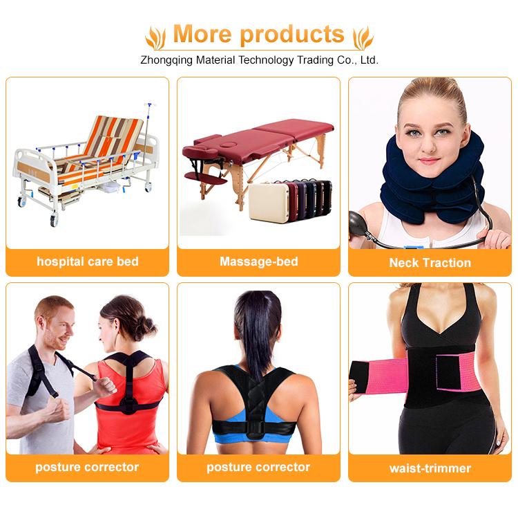 Venda quente parte superior das costas postura magnética corrector para uso direto de volta