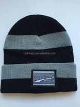 wholesale mens machine knit acrylic beanie