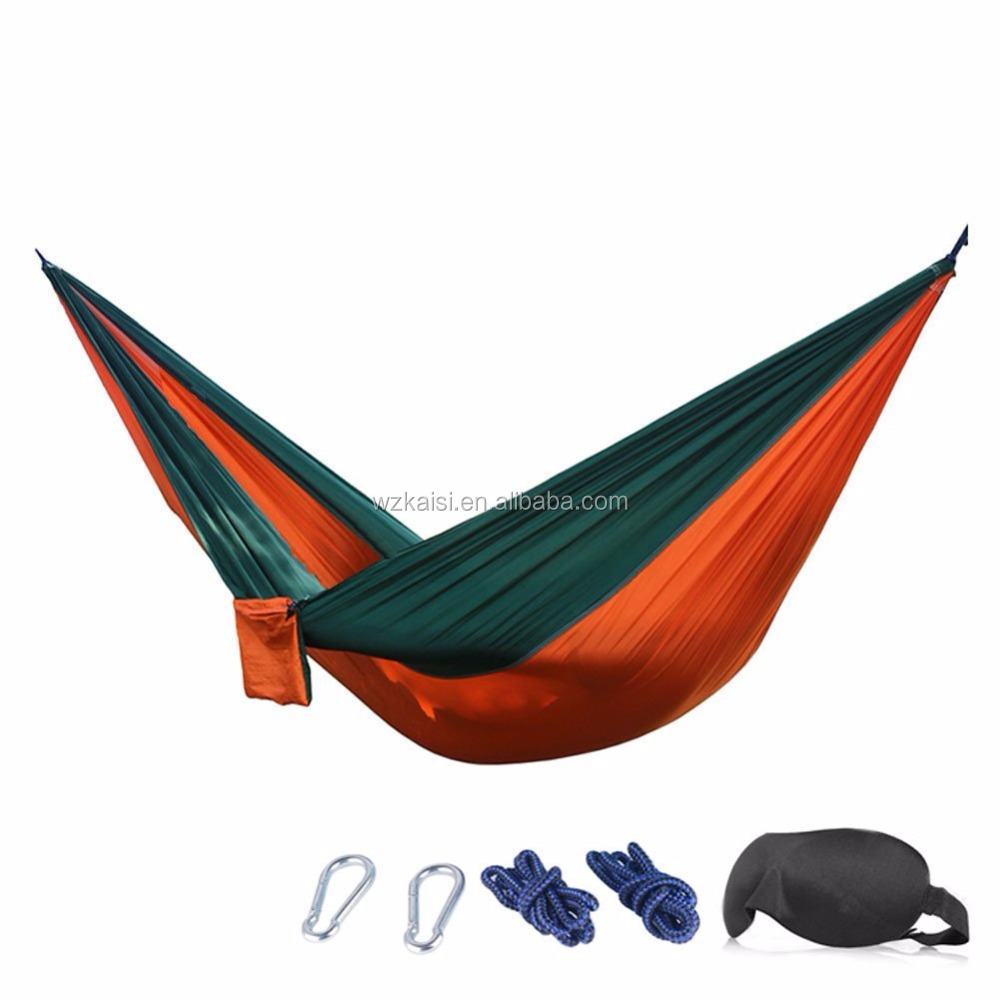 ripstop nylon camping hammock parachute double hammock chair outdoor portable hammock swing