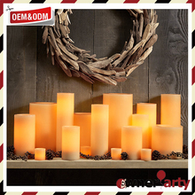Factory sale various decoration led votive candle scented or unscented