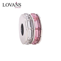 Most Popular Crystal Beads Wholesale Spacer Cfharm With CZ Jewels DIY Bracelet YZ643